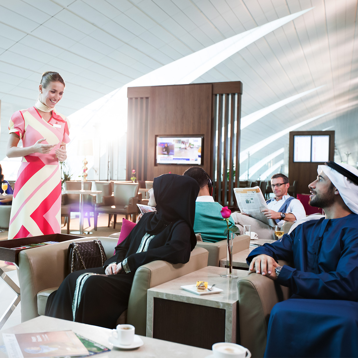 Dubai International Airport Lounges