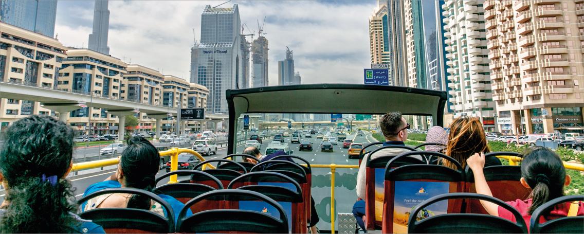 Red Route Bus Tour Dubai
